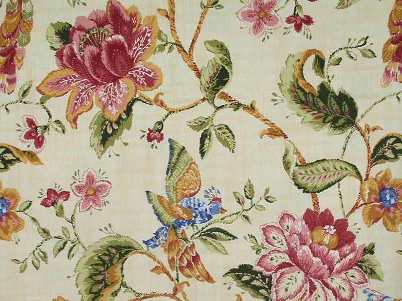 Печатные ткани - Простая печать на ткани bristol-red