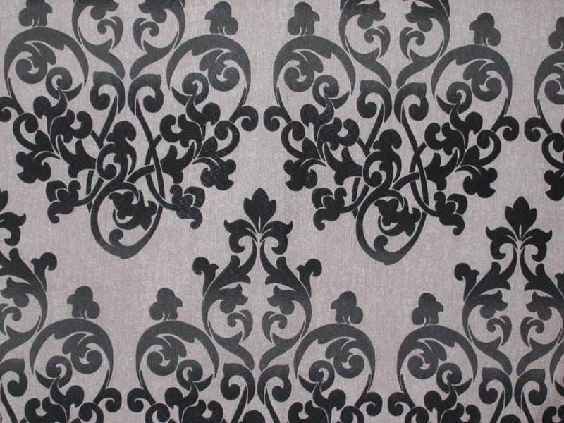 Печатные ткани - Простая печать на ткани jessica-col-black
