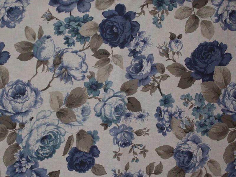 Печатные ткани - Простая печать на ткани breton-culla-blue-4