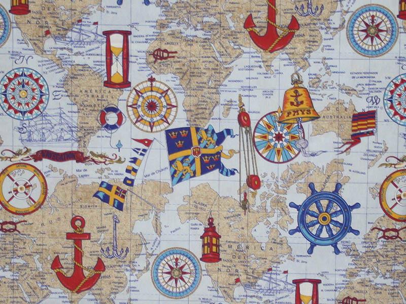Печатные ткани - Простая печать на ткани pacific-unico