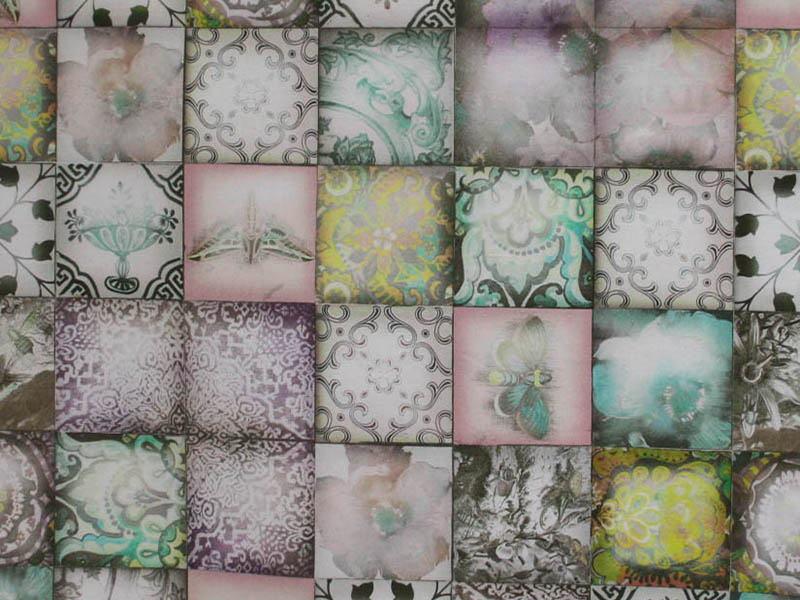 Печатные ткани - Цифровая печать на тканях 91094