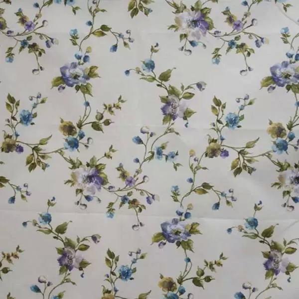 Летние итальянские ткани по оптовым ценам в Москве Лето Испании - martina-coord-printed-lo-blue