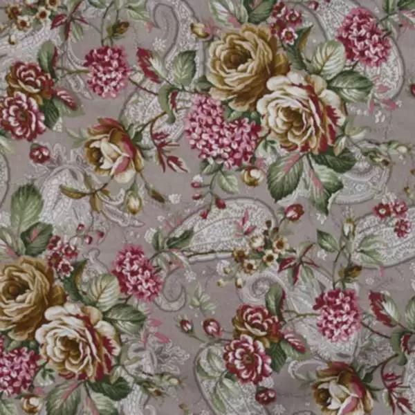 Летние итальянские ткани по оптовым ценам в Москве Лето Испании - cachemir-panama-grey