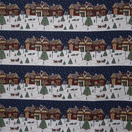Новогодние ткани - 2016 по оптовым ценам и большой картой цветов на складе в Москве - f-6181