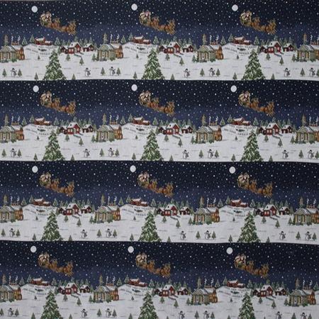 Новогодние ткани - 2016 по оптовым ценам и большой картой цветов на складе в Москве - f-6229