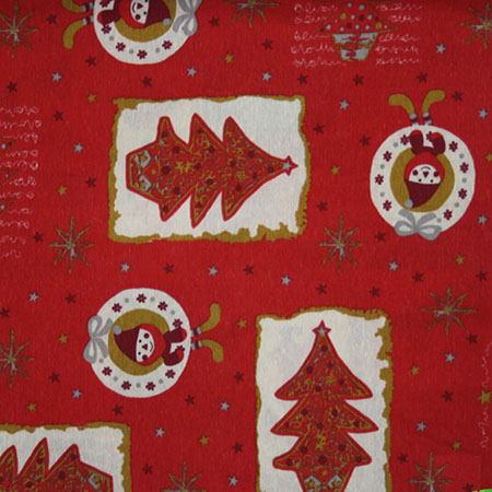 Новогодние ткани - 2016 по оптовым ценам и большой картой цветов на складе в Москве - duendes-rojo