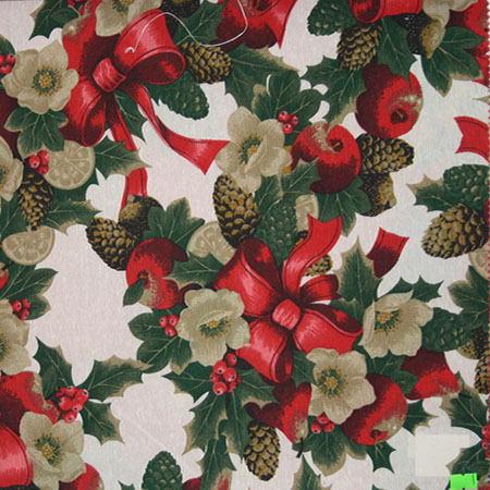 Новогодние ткани - 2016 по оптовым ценам и большой картой цветов на складе в Москве - christmas-crudo