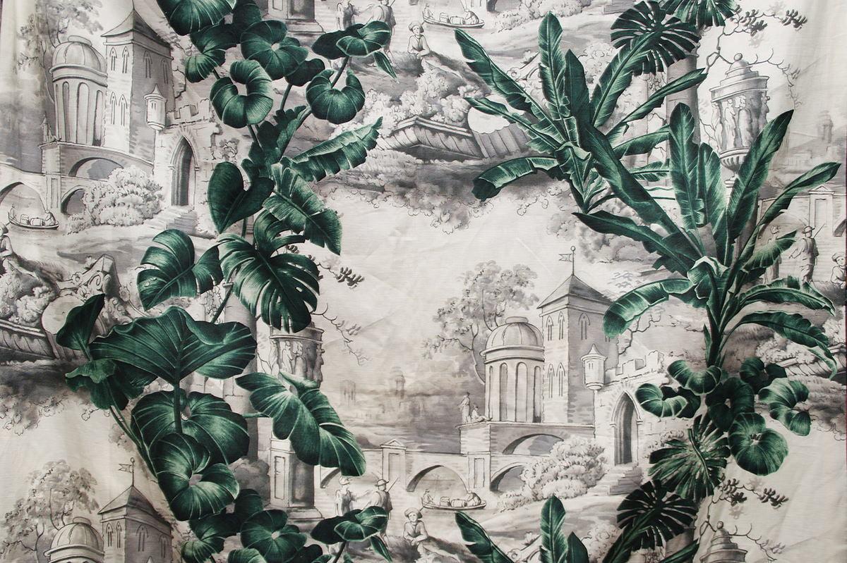 Печатные ткани - Простая печать на ткани lik-034h-4419.102