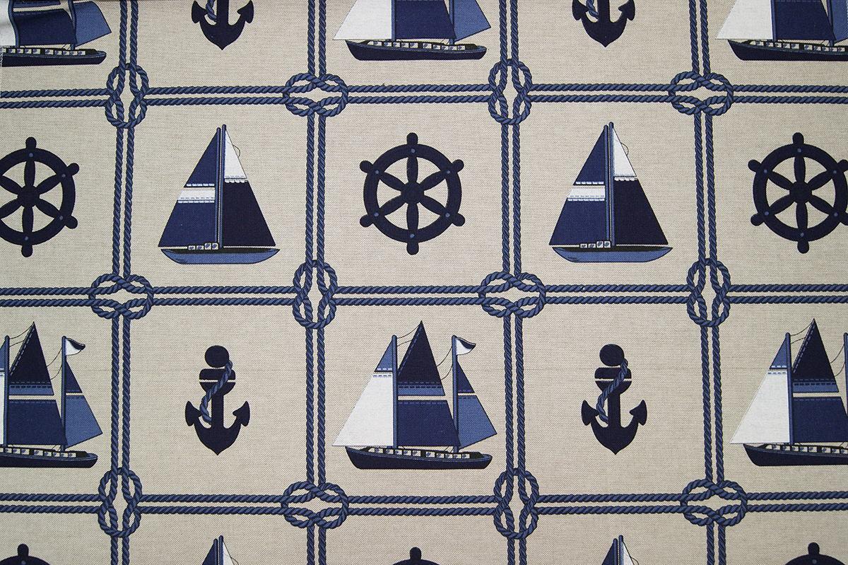 Печатные ткани - Простая печать на ткани culla-goleta-col.unic