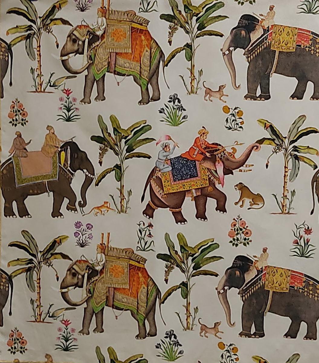 Печатные ткани - Простая печать на ткани jaipur
